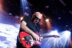 Joe Satriani - Satriani performing in Aarhus, 2016