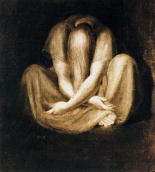 Johann Heinrich Füssli - Silence - WGA08336