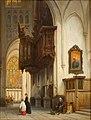 Johannes Bosboom - Het orgel in de Sint-Janskerk te 's-Hertogenbosch - 0392 - Rijksmuseum Twenthe.jpg