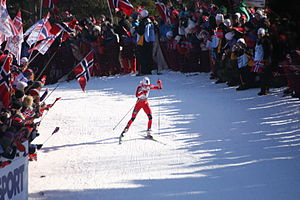 Oslo bid for the 2018 Winter Olympics - Therese Johaug during the women's 30 km at the FIS Nordic World Ski Championships 2011
