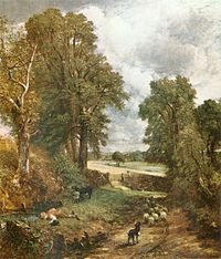 Constable's The Cornfield of 1826