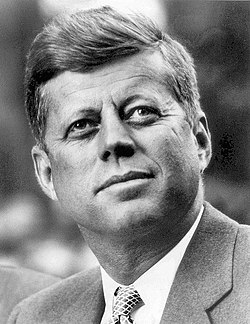 Photo portrait of John F. Kennedy, President of the United States (1961)