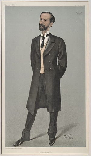 John Hamilton-Gordon, 1st Marquess of Aberdeen and Temair - Aberdeen caricatured by Spy for Vanity Fair, 1902