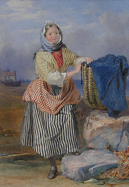 File:John Henry Mole Northumbrian fisher girl.jpg