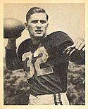 John Lujack 1948 Bowman