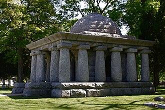 John Riley Tanner - John Tanner's tomb at Oak Ridge Cemetery
