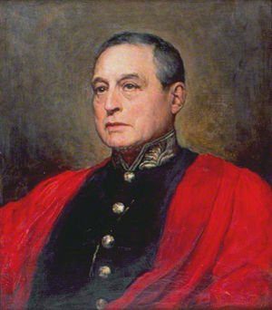 Sir John Mowbray, 1st Baronet - John Robert Mowbray (Walter William Ouless, 1886)