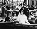 John and Jacqueline Kennedy 27 March 1963.jpg