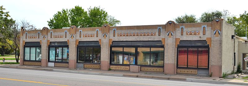File johnson drug store building 2329 east douglas for Store building design
