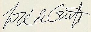Jose de Creeft - Image: Josede Creeft Signature
