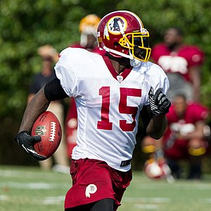 Josh Morgan - Morgan at the Redskins' training camp in 2012.