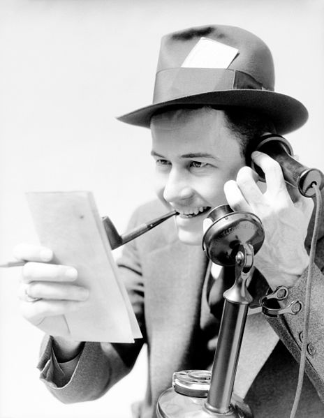 File:Journalist With Pipe.jpg