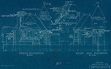 Cyanotype wikipedia architectural drawing blueprint canada 1936 malvernweather Gallery