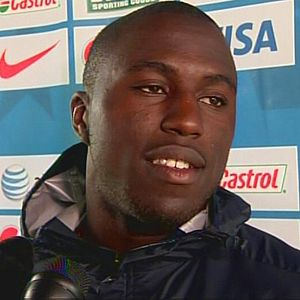 Jozy Altidore - Altidore in Johannesburg, South Africa during the 2010 FIFA World Cup