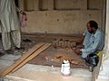 July 9 2005 - The Lahore Fort-A craftsman.jpg