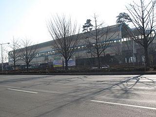 Jungang station (Ansan) train station in Ansan, South Korea