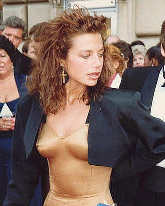 Justine Bateman - Bateman at the 1987 Primetime Emmy Awards