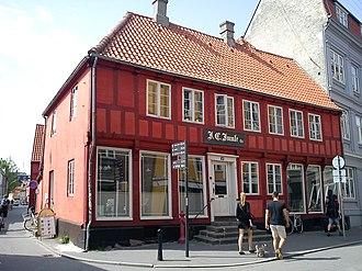 Latinerkvarteret, Aarhus - Image: Juuls Farvehandel
