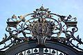 Köln-Sülz Luxemburger Strasse 201 Detail Tor Denkmal 7684.JPG