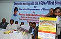 K. Rahman Khan addressing at the interactive meeting with the NGOs of West Bengal for Educational Empowerment of Minorities, organized by Maulana Azad Education Foundation (MAEF), New Delhi, in Kolkata on February 11, 2013.jpg