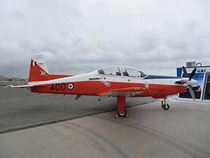 Peruvian Air Force - Peruvian KAI KT-1P Woongbi with the Escuadrón Aéreo 512.
