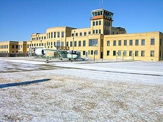 Kansas Aviation Museum Aviation Museum in Wichita, Kansas USA