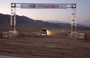 Kat-5 (vehicle) - Kat-5 is the fourth vehicle to cross the finish line at the 2005 DARPA Grand Challenge. Its official time was 7 hours, 30 minutes.