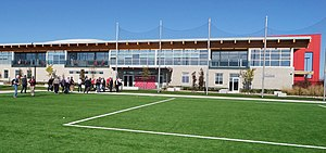 TFC Academy - Side view of the KIA training ground