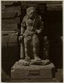 KITLV 28330 - Isidore van Kinsbergen - Sculpture -front- from 1322 of Shiva as a holy watcher Panataran, Kediri - 1867-02-1867-06.tif