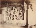 KITLV 92163 - Unknown - Relief in the Kailasa temple in a cave near Ellora in India - Around 1870.tif