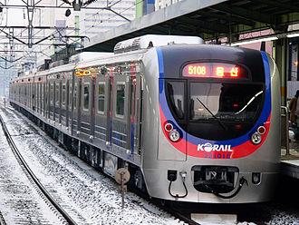Korail Class 321000 - Class 321000 (second batch) train 321-18