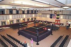 Keystone State Wrestling Alliance - The KSWA ring prior 2015 Fan Fest