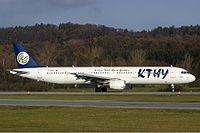 KTHY Airbus A321 Wallner.jpg