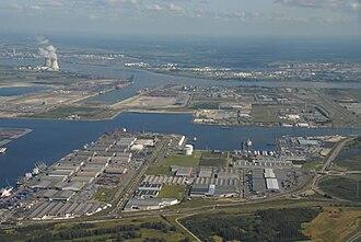 Katoen Natie - Port of Antwerp, Quay 1227