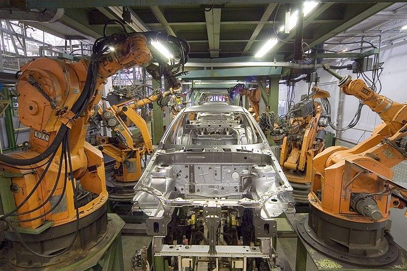 File:KUKA Industrial Robots IR.jpg
