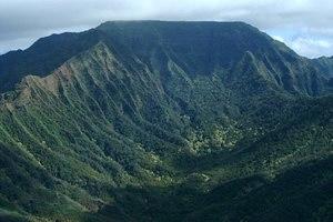 Ka'ala - Image: Kaala Plateau USGS