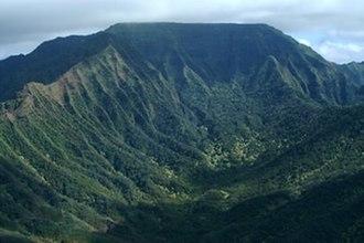 Kaʻala - Image: Kaala Plateau USGS
