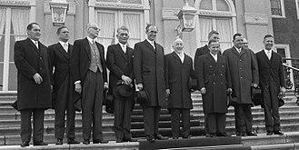 De Jong cabinet - The installation of the De Jong cabinet on 5 April 1967