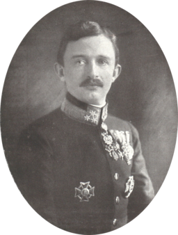 Kaiser Karl (als Oberstinhaber des k. und k. Infanterieregiments Nr. 1) 1917 Ernst Förster