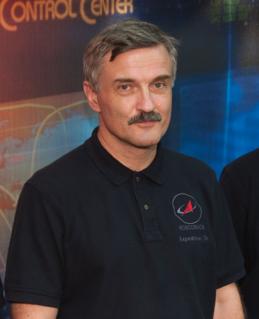 Aleksandr Kaleri Russian cosmonaut