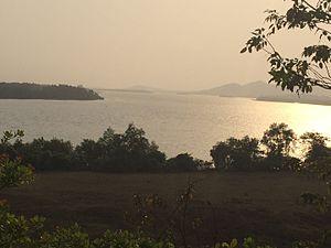 Kali River (Karnataka) - Picturesque view of the Kali River