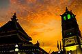 Kampung Kling Mosque Sunset.JPG