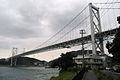 Kanmon bridge from Moji (1525592178).jpg