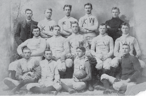 Kansas Wesleyan Coyotes - 1893 KW Football Team