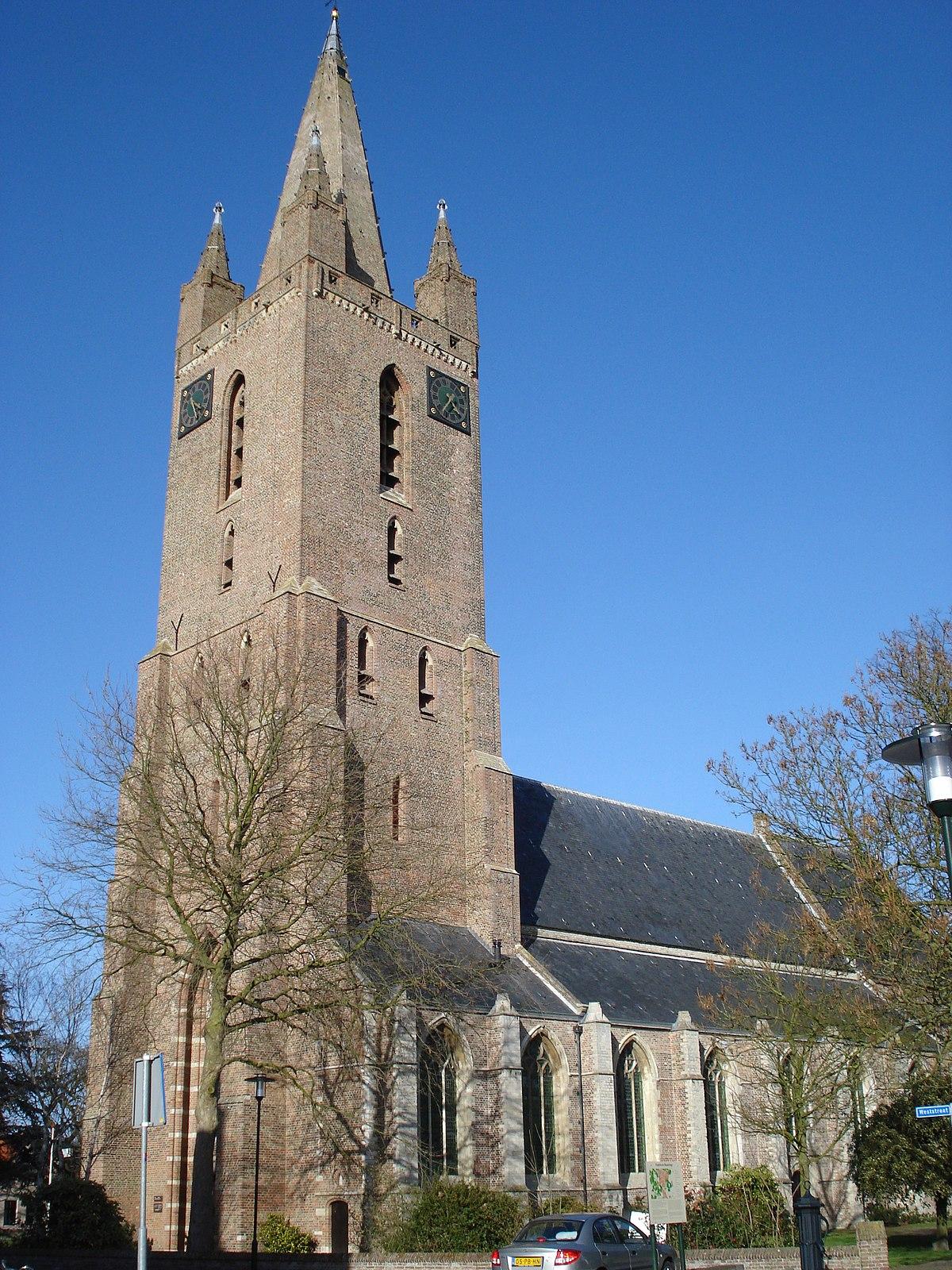 Hervormde kerk (Kapelle) - Wikipedia