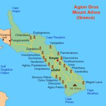 Athos-Lista över de tjugo klostren-Fil:Karta Athos