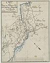 100px kartblad 10 2  cart over weyene og flodernes l%c3%b8b samt l%c3%a6gdernes beliggenhed i det schibtvetske compagnie district%3b verson 2%2c 10 2%2c 1800