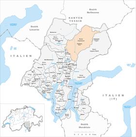 Map of Capriasca
