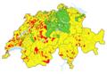 Karte Gemeinden der Schweiz Denkmallisten.png