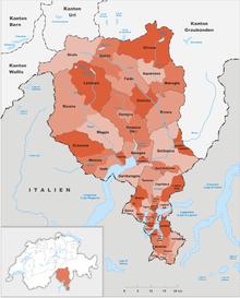 Cartina Ticino Svizzera.Svizzera Italiana Wikipedia